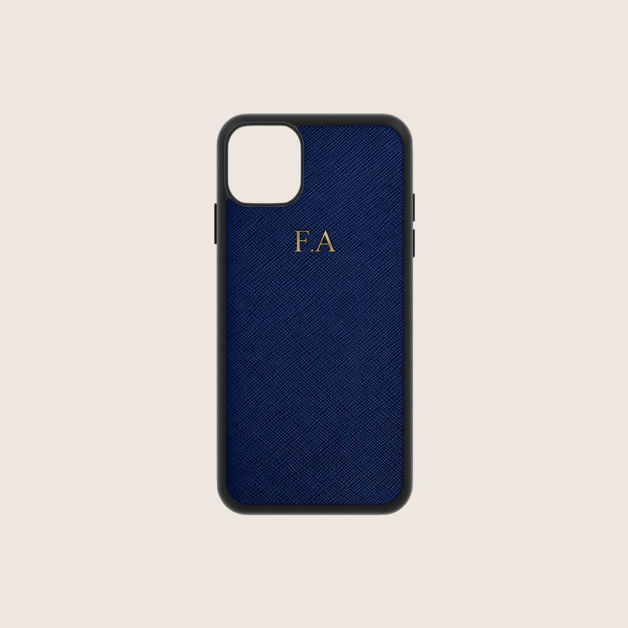 SAFFIANO NAVY (iPhone X/ XS)