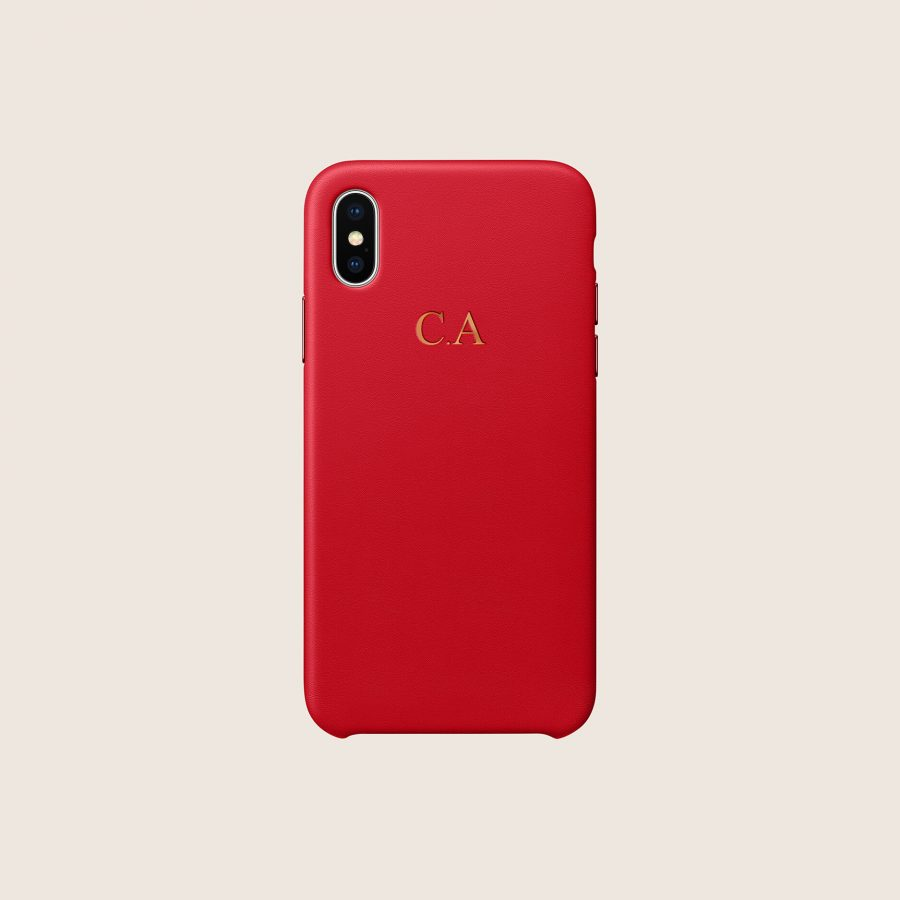LEATHER RED (iPhone PRO MAX 11)