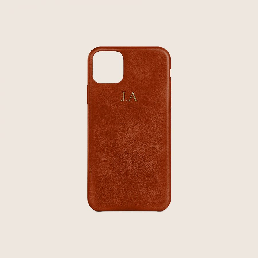 LEATHER BROWN (iPhone 12 Mini)