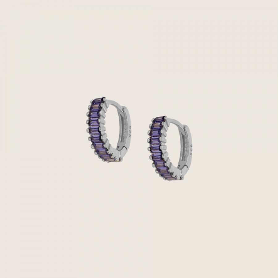 Lala Lilac Earrings