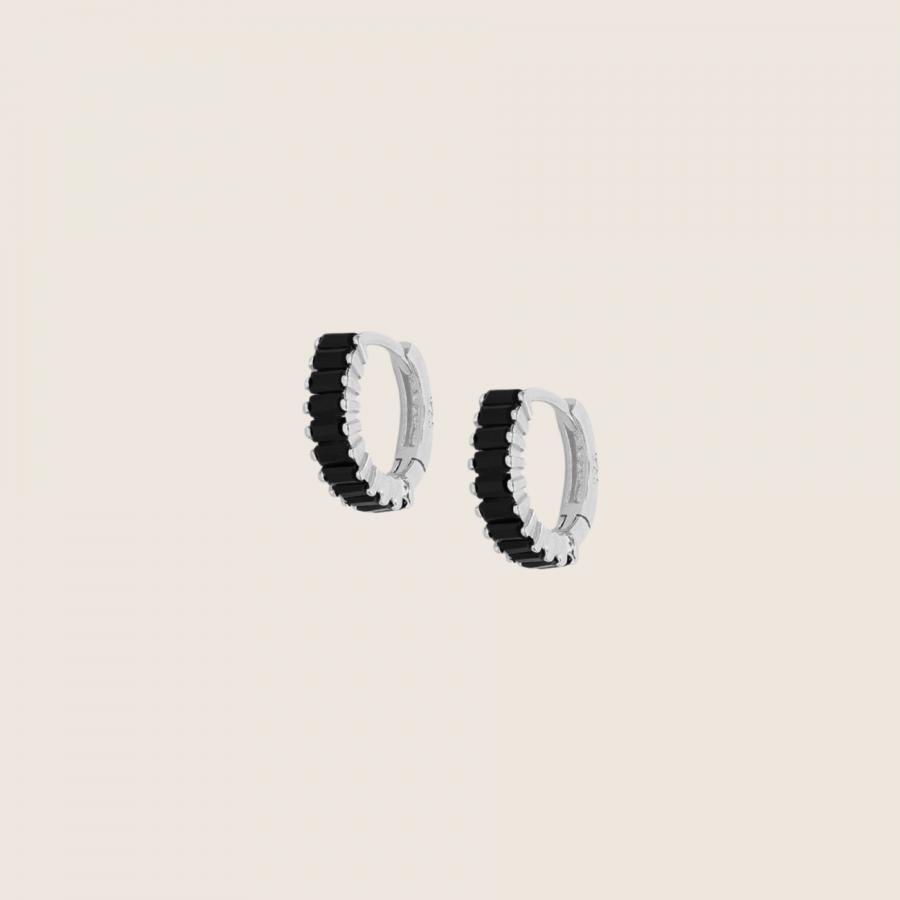 Lala Black Earrings