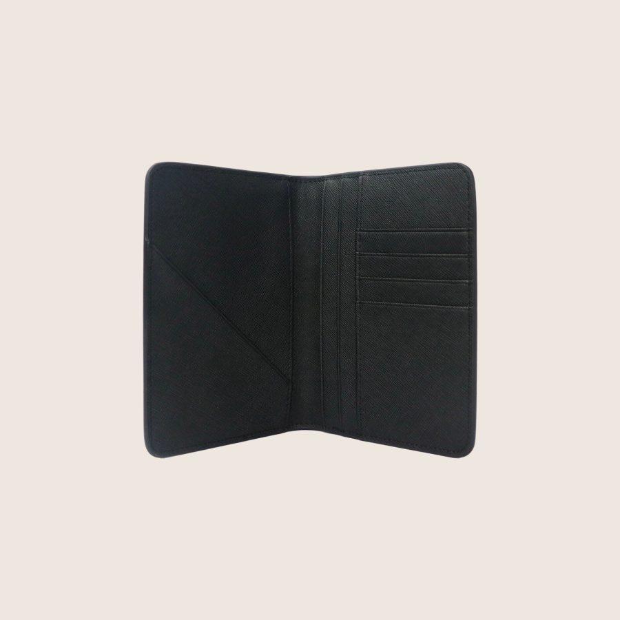 Carteira Passaporte Personalizada Black