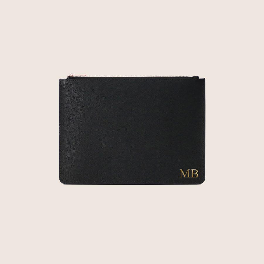 Clutch Personalizada Black