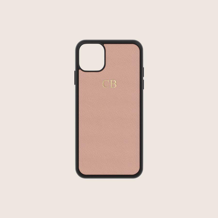 SAFFIANO  NUDE (iPhone 12/ 12 Pro)
