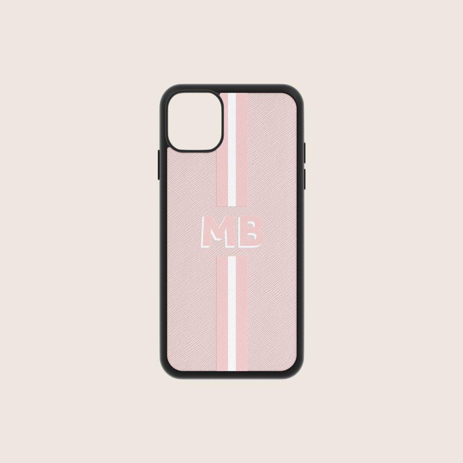 SAFFIANO NUDE STRIPES 1 (iPhone 12/ 12 Pro)