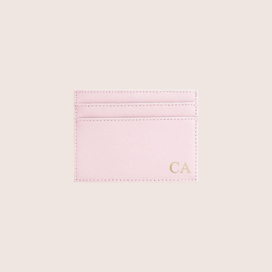 Porta-Cartões Personalizado Light Pink