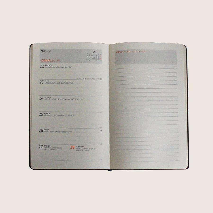 Agenda A5 (semanal) Azulão