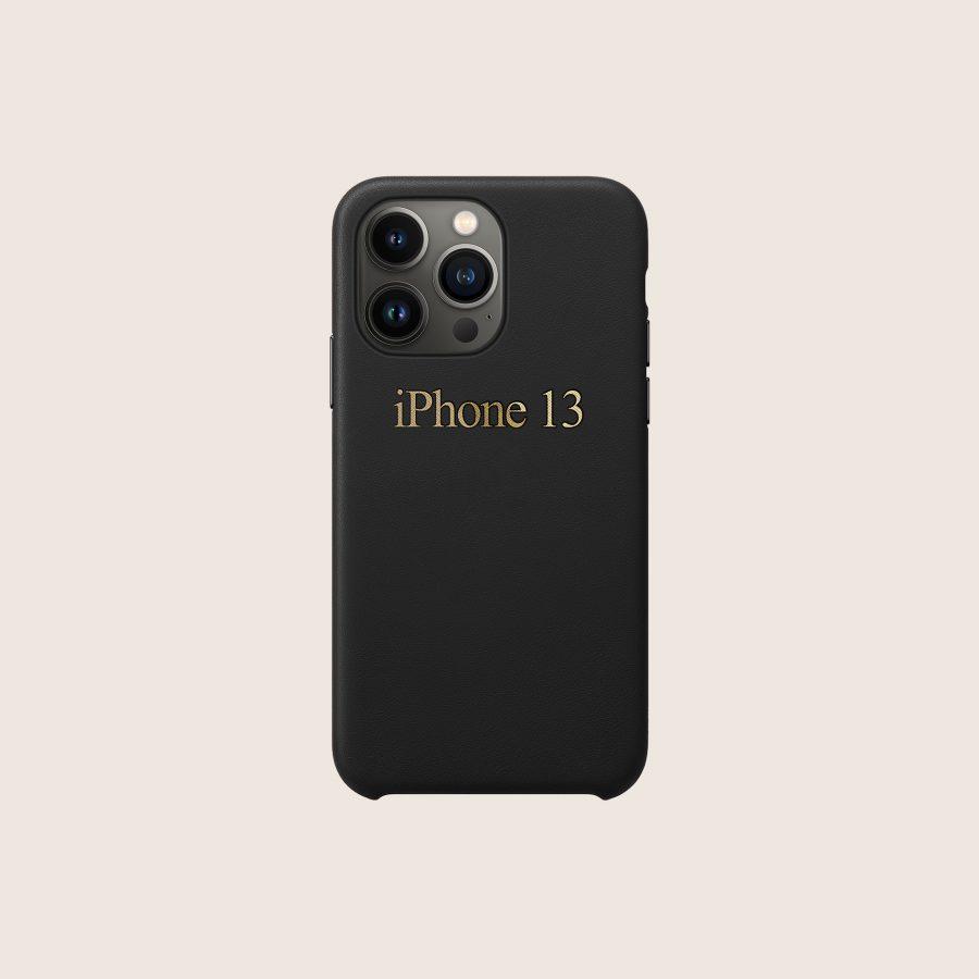 LEATHER BLACK (iPhone 13 Pro)
