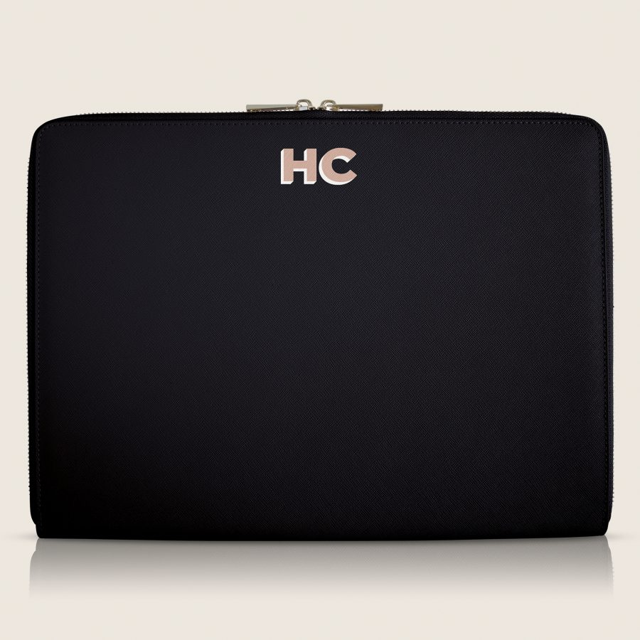Bolsa para Laptop Black Initials